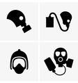 Gas masks vector image