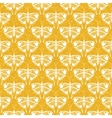 art deco pattern with butterflies vector image