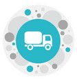 of shipment symbol on shipping vector image