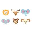set of animal icon vector image
