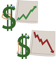 Investments vector image vector image