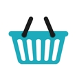 Shopping basket icon Shopping and commerce design vector image