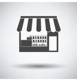 Tent shop icon vector image