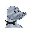 seal animal circus carnival show image vector image