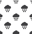 cloud rain seamless pattern vector image