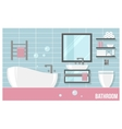 bathroom modern interior vector image