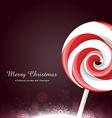 lollipop candy vector image