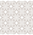 Seamless hand drawn beige zenart pattern vector image