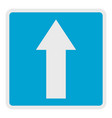 forward arrow icon flat style vector image
