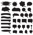 Speech box set vector image