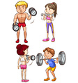 Training vector image