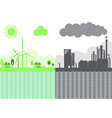 Sustainability of Earth Ecology Concept vector image vector image