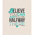 Quote Typographical design vector image vector image