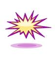 Burst icon vector image