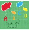 hanging Abc vector image
