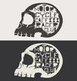 Skull Logo Set vector image