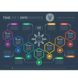 Web Template of a pyramidal chart diagram or vector image