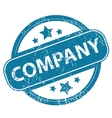 COMPANY round stamp vector image