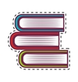 books school isolated icon vector image