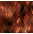 Square Brown Mosaic Background vector image