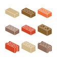 building and contruction materials icons - vector image