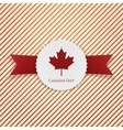 Canada Day national paper Emblem vector image