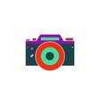 DSLR Icon vector image