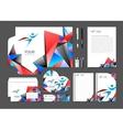 simple minimalistic corporate identity vector image