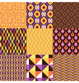 pattern geometric set vector image