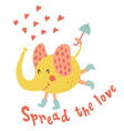 spread the love vector image