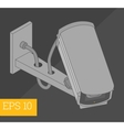 security camera isometric vector image
