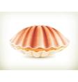 Seashell high quality vector image vector image