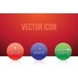 icon set color vector image vector image