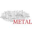 metal word cloud concept vector image