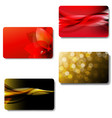 gift card big set vector image vector image