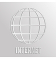 Worldnet the Internet vector image vector image