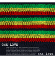 One Love vector image