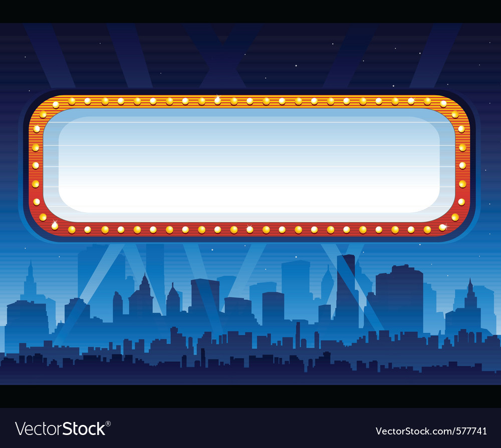 Downtown party city vector