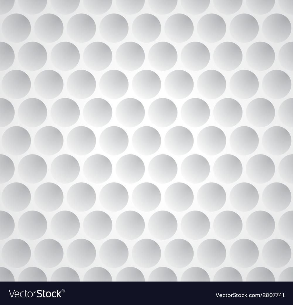 Golf ball seamless pattern vector