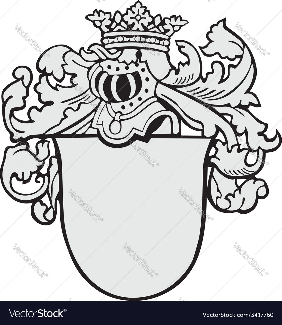 Aristocratic emblem no7 vector