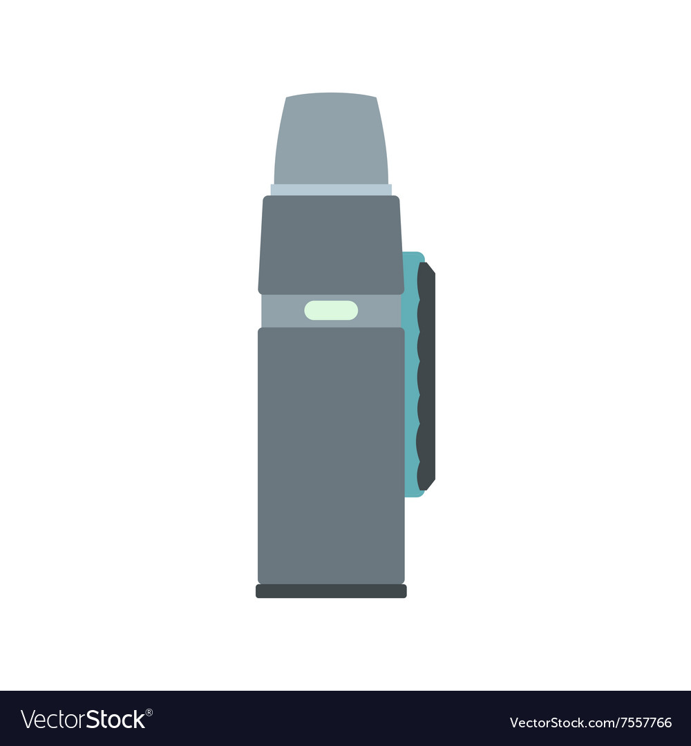 Mos flask flat icon vector