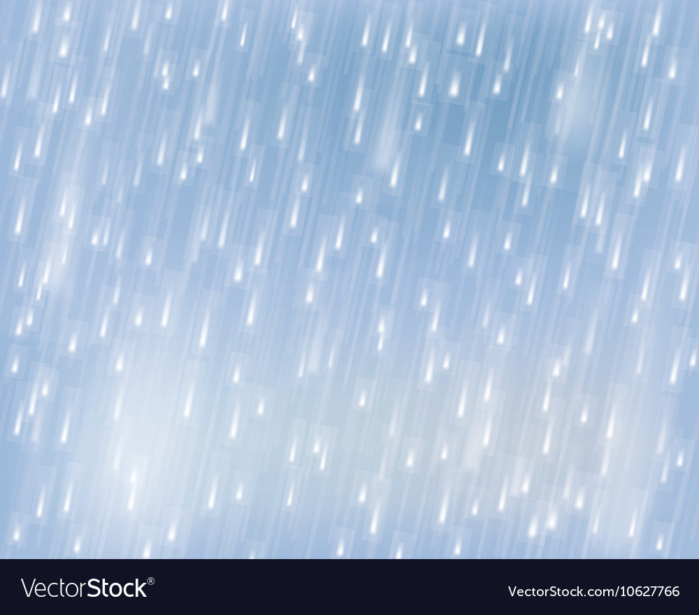 Torrential rain vector
