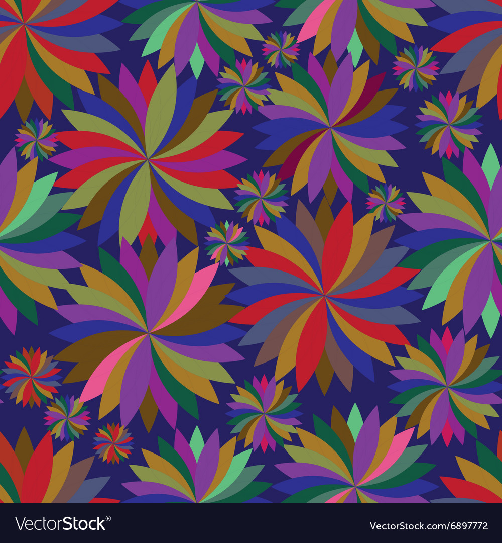 Seamless pattern with spinning tops vector