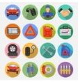 Car Service Set Icons vector image