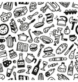 Food - seamless background vector image