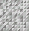 Retro triangle pattern with gray background vector image