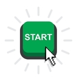 Start power button vector image