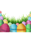 Easter backdrops vector image