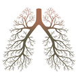 Lung patients vector image