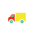 Trucking Icon vector image